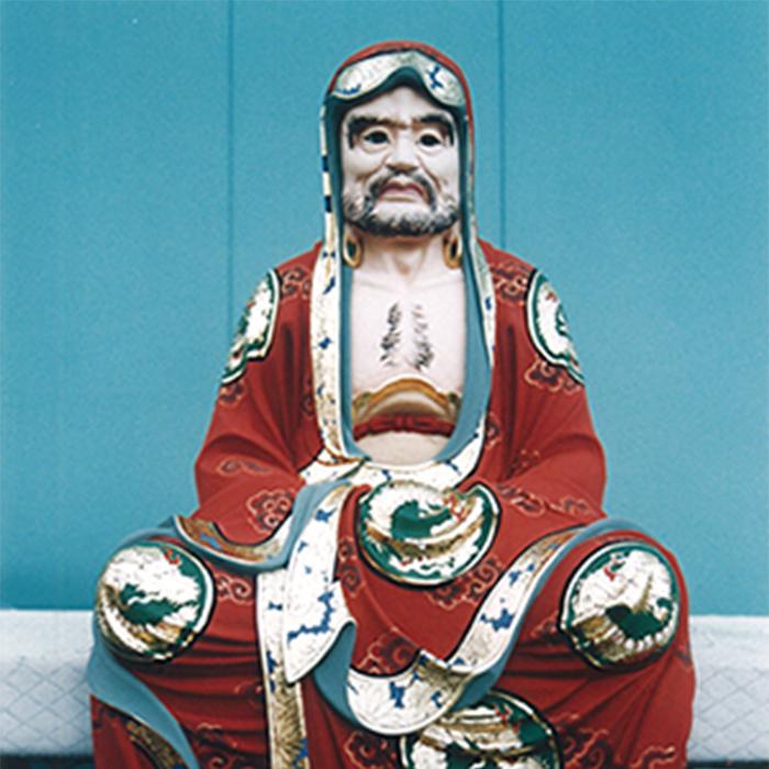 達磨大権像(修復)